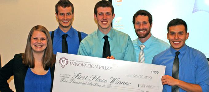 Schurz Communications and Purdue University Innovation prize awarded